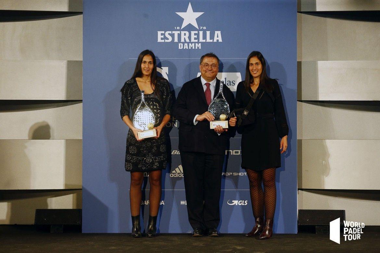 Majo y Mapi Sánchez Alayeto, Mejor Pareja femenina de 2018. | WPT