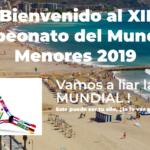 El cartel del Mundial de Menores de Castellón.