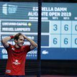 Bergamini en el Alicante Open. | Foto: World Padel Tour