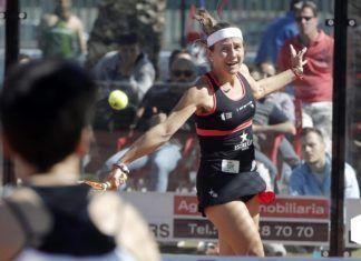 Carolina Navarro en dieciseisavos del Alicante Open. | Foto: World Padel Tour