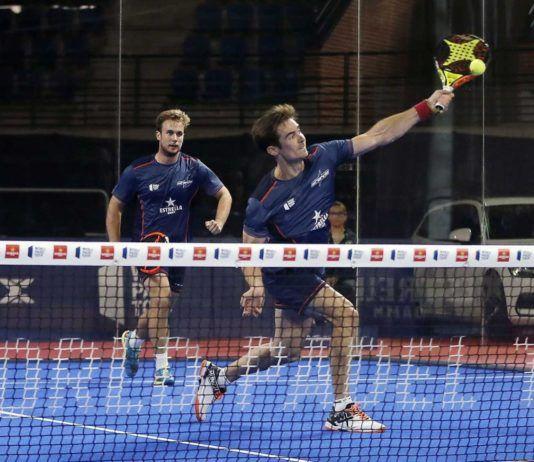 Gonzalo Rubio y Ernesto Moreno, sorpresa de 1/16 del Logroño Open.