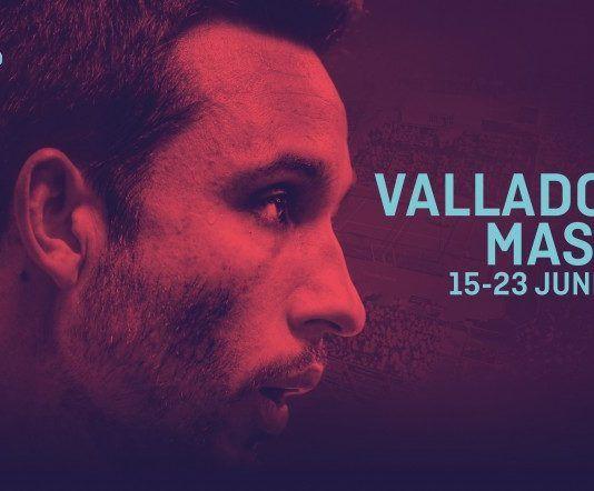 Las autoridades en la presentación del Valladolid Open.