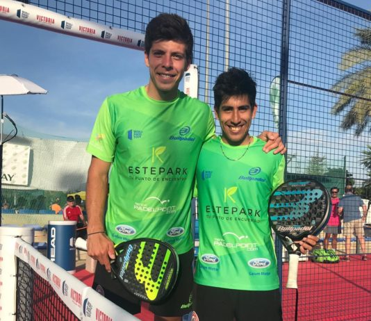 Tello y Chingotto en el Jaén Open. | Foto: World Padel Tour