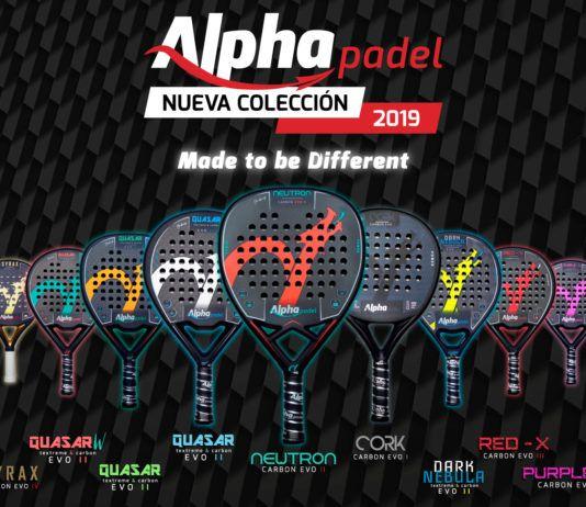 La colección de palas de pádel Alphapadel. | Alphapadel