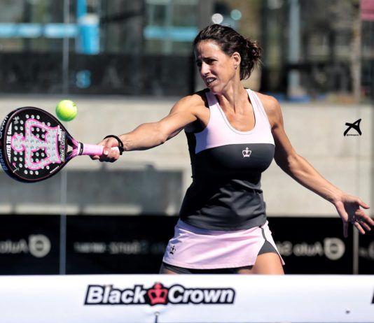 Marta Marrero con su Black Crown Piton Nakano. | Foto: Black Crown