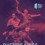El cartel del Buenos Aire Master. | Foto: World Padel Tour