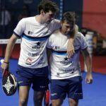 Stupaczuk y Mati Díaz en el Jaén Open.| Foto: World Padel Tour