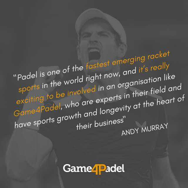 Las declaraciones de Andy Murray en su página web. | www.andymurray.com