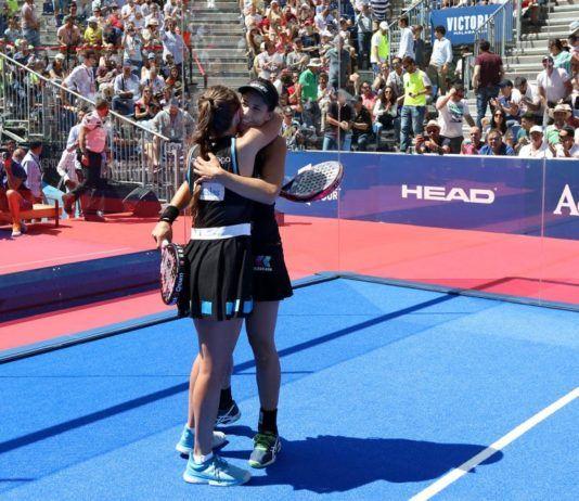 Marrero y Ortega en el Jaén Open.  Foto: World Padel Tour