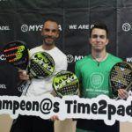 Los campeones del masculino A del Circuito Mystica. | Foto: Torneos Time2Padel