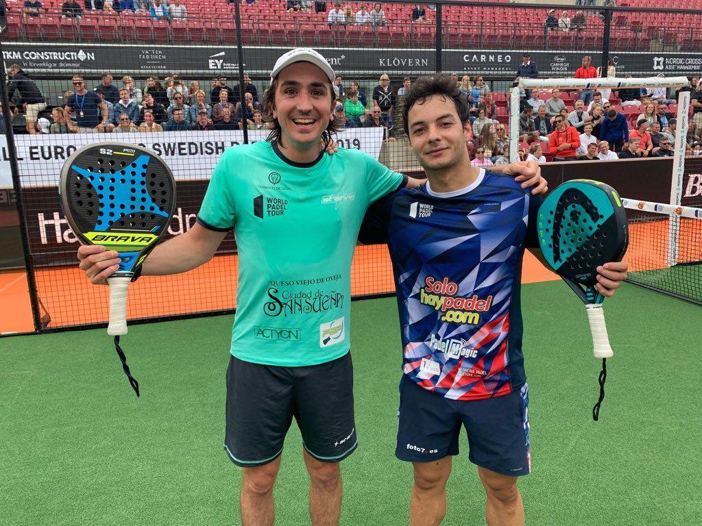 ¡Sorpresa en octavos! Antelo y Martínez eliminan a Sanyo y Maxi. | Foto: World Padel Tour