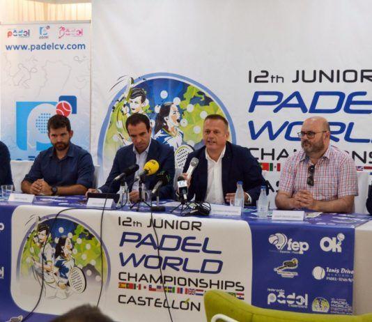 La presentazione del Padel mondiale di minori.   Foto: PadelCV