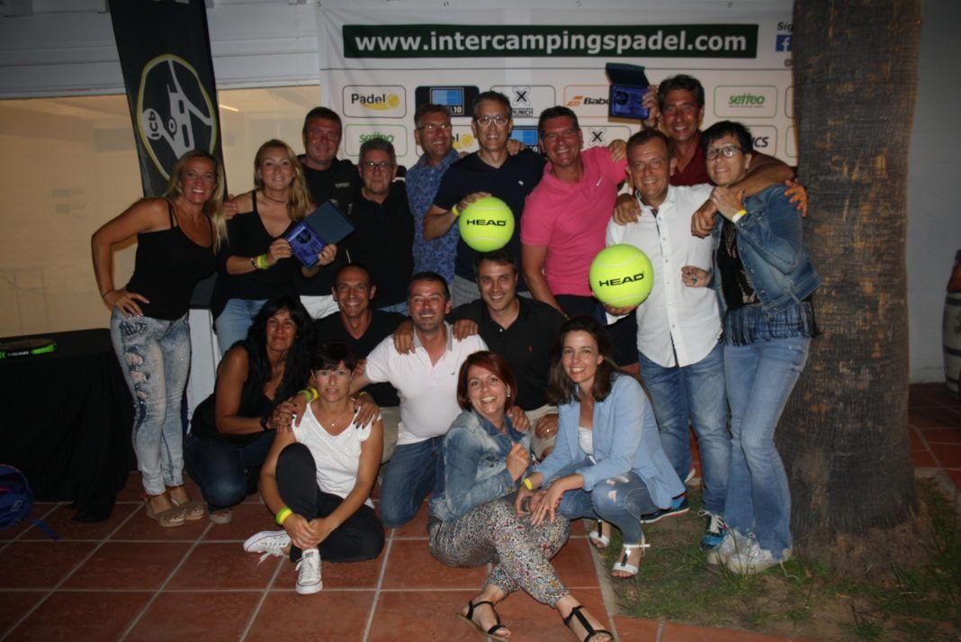 Equipos Tamarit Campeones del Inter Campings Padel by Head.