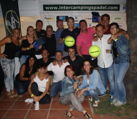 Squadre Tamarit Campioni dell'Inter Campings Padel di Head.