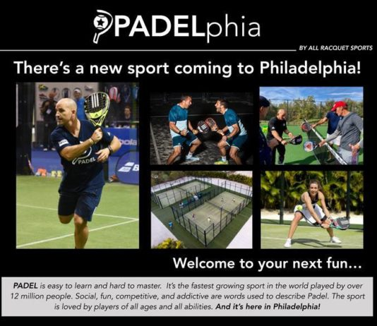 PADELPHIA, le premier club émergent aux Etats-Unis.