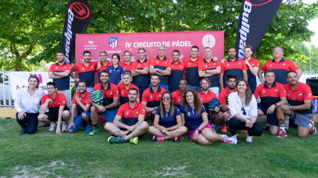 La photo de famille du IV Circuit Fundación Atlético de Madrid.