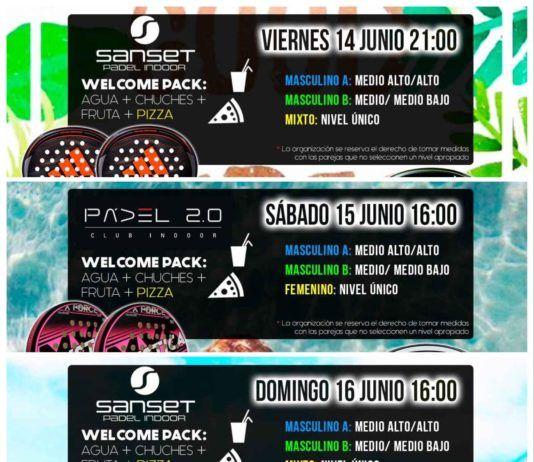 La propuesta de Torneos Time2Padel.