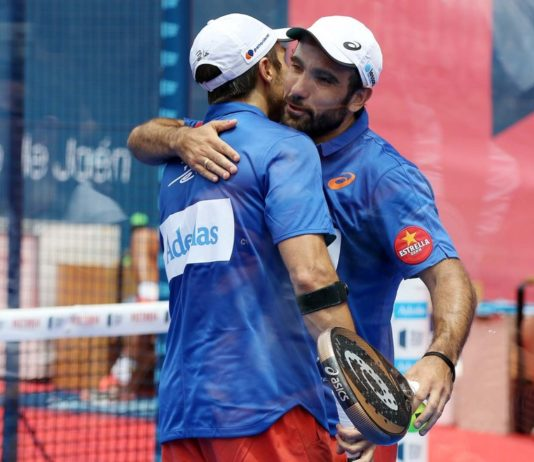 Bela e Lima. | Foto: World Padel Tour