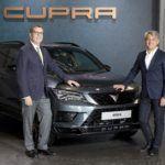 CUPRA, patrocinador oficial del World Padel Tour.