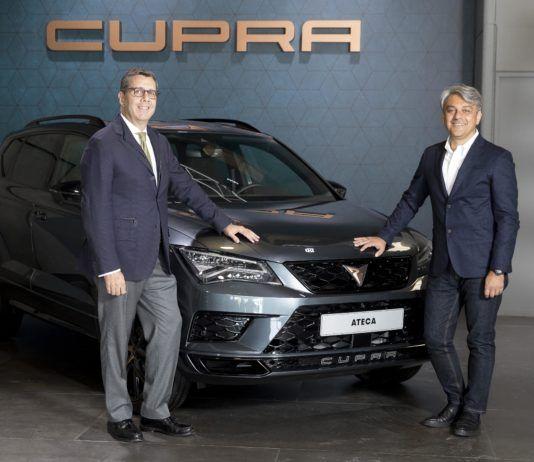 CUPRA, sponsor ufficiale del World Padel Tour.