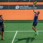 Paquito y Lebrón en el Swedish Open. | Foto: World Padel Tour