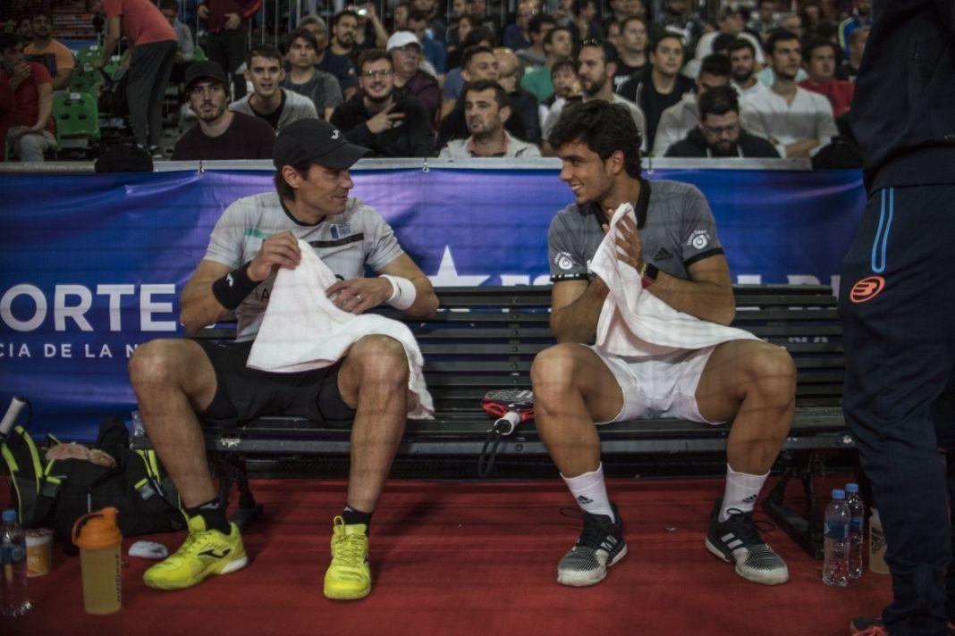 Galán et Mieres dans le maître de Buenos Aires. | Photo: Tour du monde Padel
