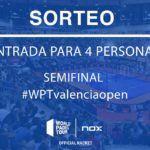 NOX sortea varias entradas para el Valencia Open del World Padel Tour.