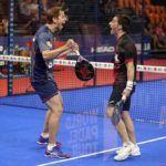 Perino y Jardim, protagonistas de 1/16 del Valencia Open. | Foto: World Padel Tour
