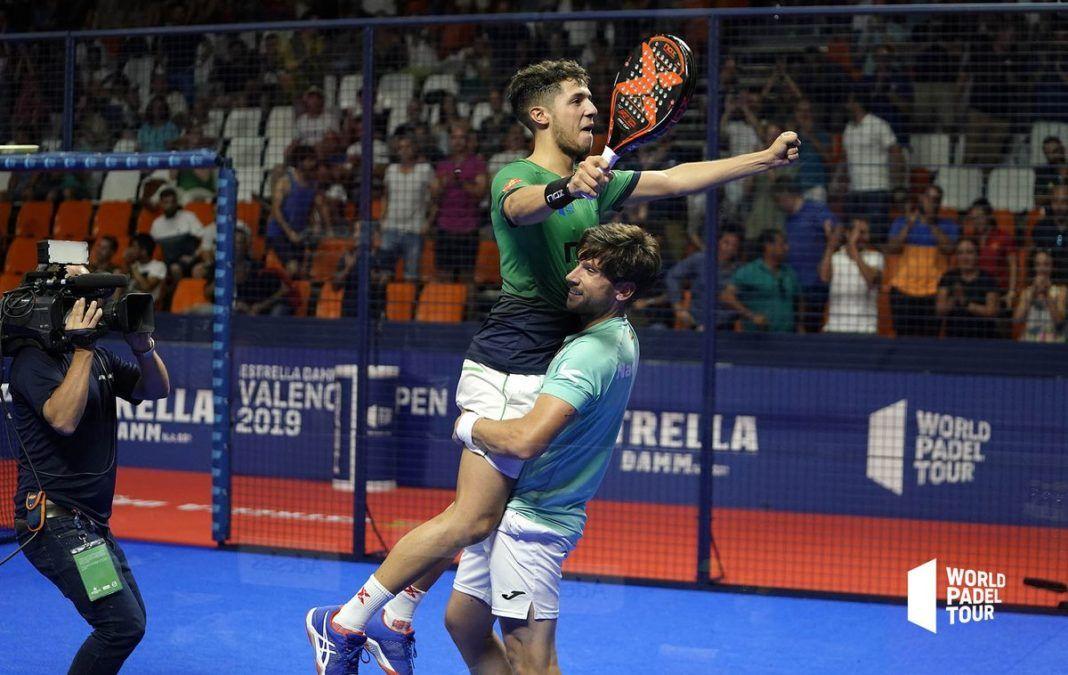 Gadea y Tapia en el Valencia Open. | Foto: World Padel Tour
