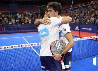 Galán y Lima en el Valencia Open. | Foto: World Padel Tour