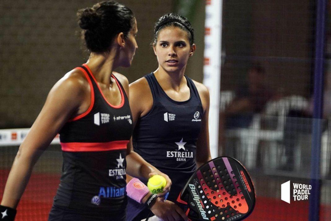 Majo Sánchez Alayeto y Delfi Brea en el Valencia Open. | Foto: World Padel Tour