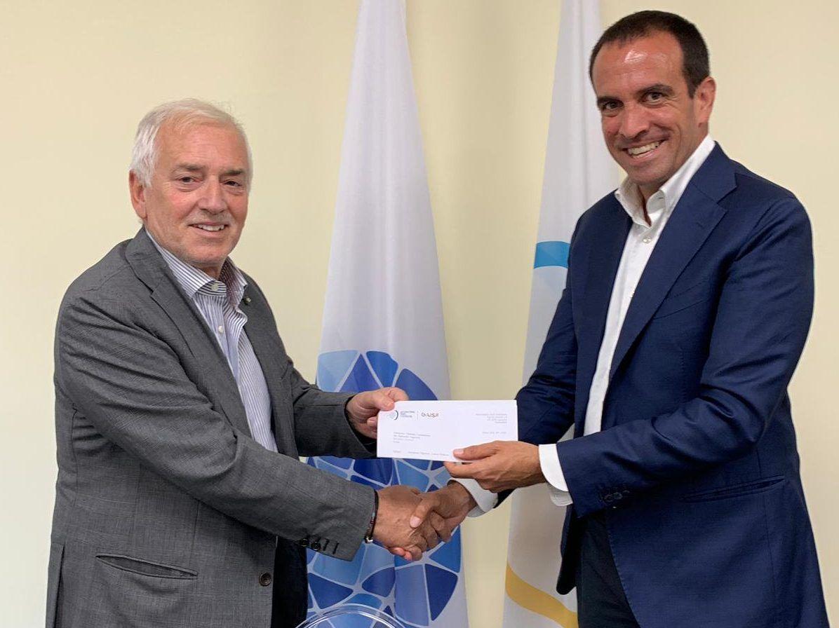 Luigi Carraro, presidente de la FIP, junto a Raffaele Pagnozzi. | Foto: FIP