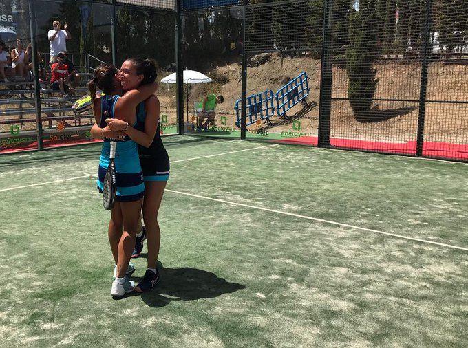 Vero Virseda e Mari Carmen Villalba al Mijas Open. | Foto: World Padel Tour