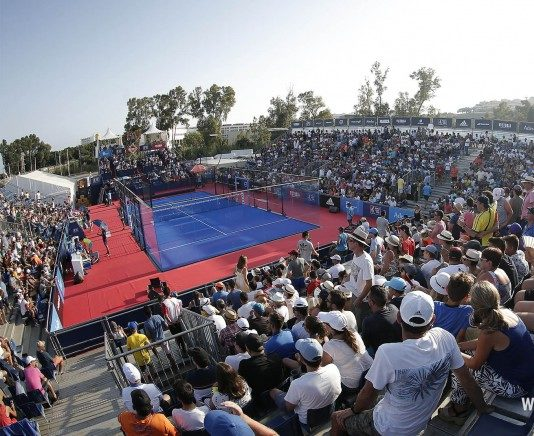 El Mijas Open. | Foto: World Padel Tour