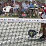 Zhang Bohou en el Mijas Open. | Foto: World Padel Tour