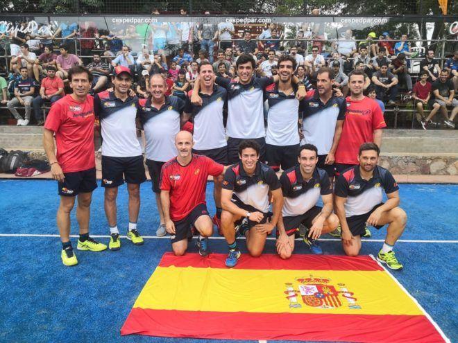 España en el Mundial de Paraguay. | Foto: FEP