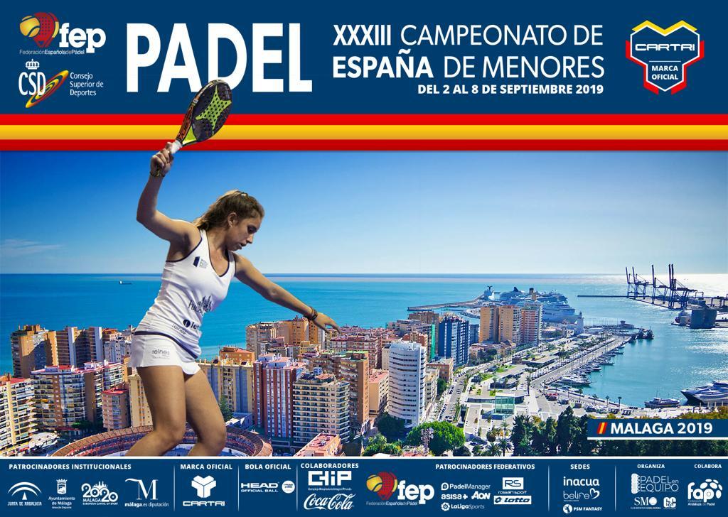 El Campeonato de España de Menores de la FEP.