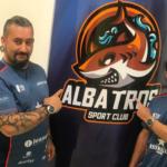 Lucas Bergamini en el Club Deportivo Albatros.
