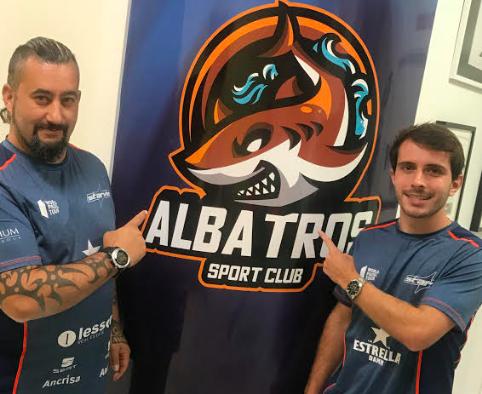 Lucas Bergamini all'Albatros Sports Club.