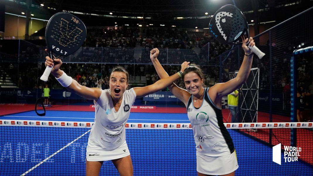 Paula Josemaría y Ana Catarina Nogueira. | Foto: World Padel Tour