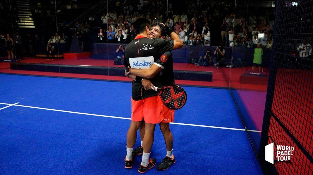 Bela e Tapia nel Master di Madrid.   Foto: World Padel Tour