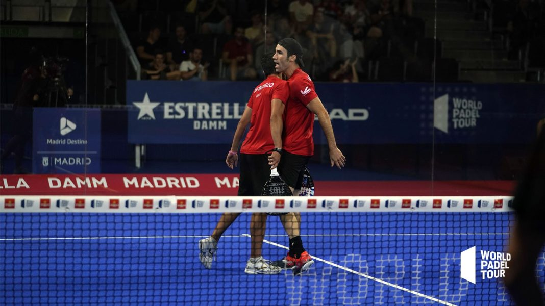Uri Botello e Javi Ruiz nel Master di Madrid. | Foto: World Padel Tour