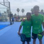 Tello y Chingotto en el Cascais Padel Master. | Foto: World Padel Tour