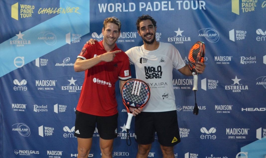 Piñeiro e Ruiz all'Outeiro de Rei Challenger. | Foto: World Padel Tour