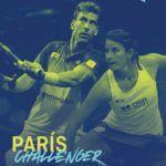 El póster oficial del París Challenger. | Foto: World Padel Tour