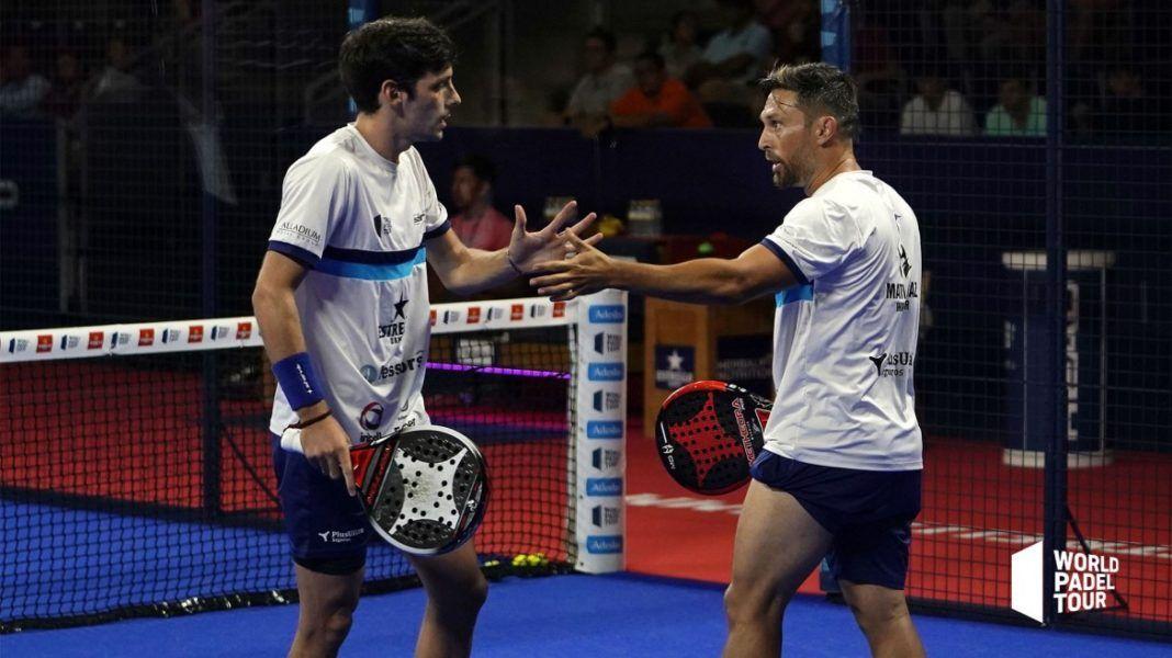 Stupaczuk e Mati Díaz nel Master di Madrid. | Foto: World Padel Tour