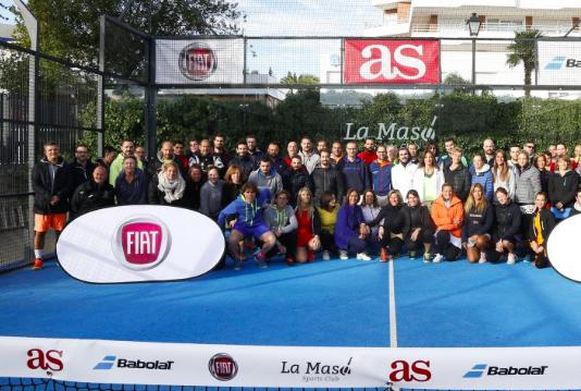 El III Torneo de pádel AS-FIAT.