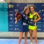 Brea y Bea González en el París Challenger. | Foto: World Padel Tour