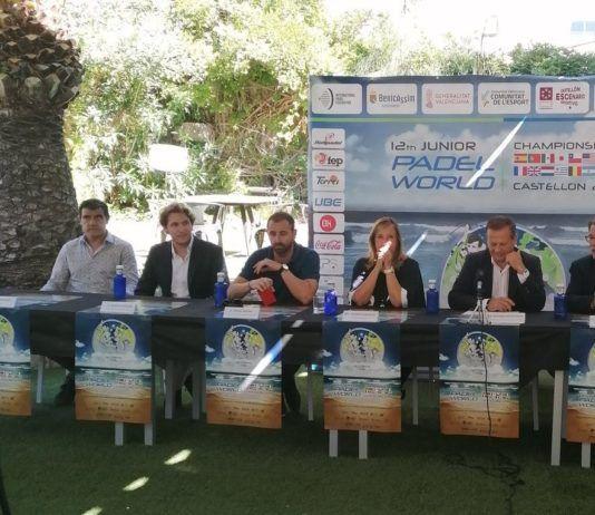 La presentación del Mundial de Menores de pádel.