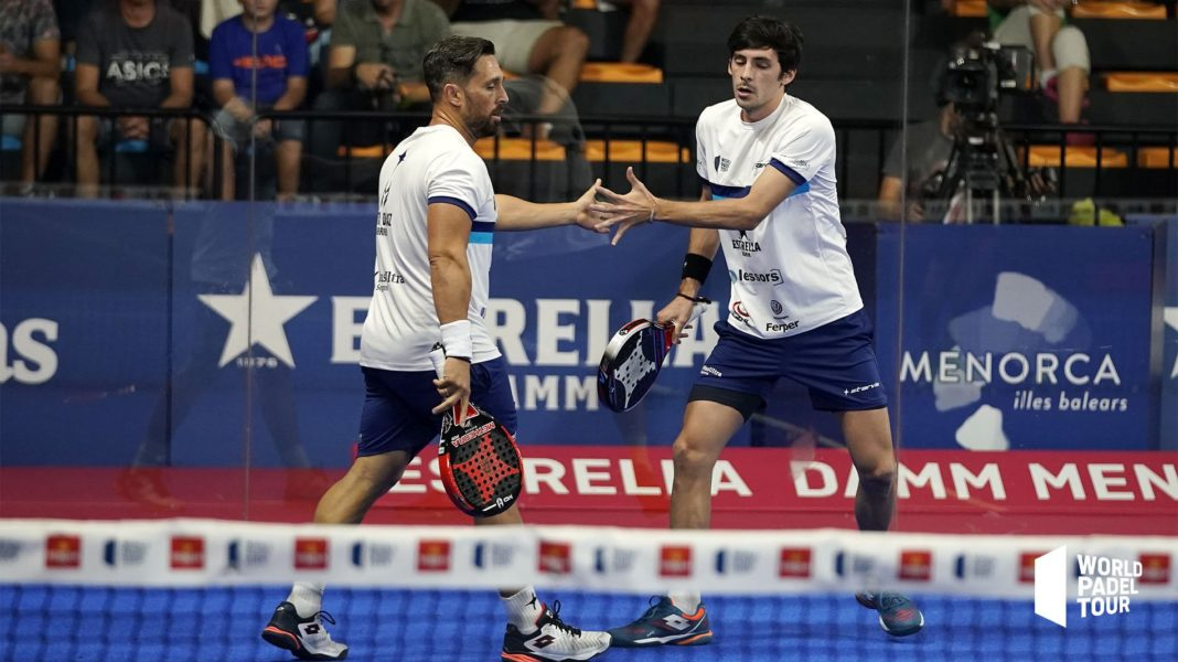 Stupaczuk e Matias Díaz all'Open di Minorca. | Foto: World Padel Tour